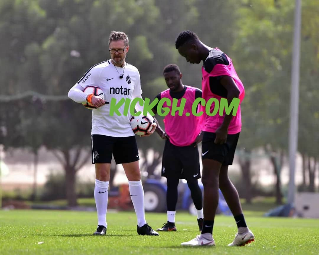 PICS: Dreams FC's Cletus Nombil begins training with Swedish side AIK