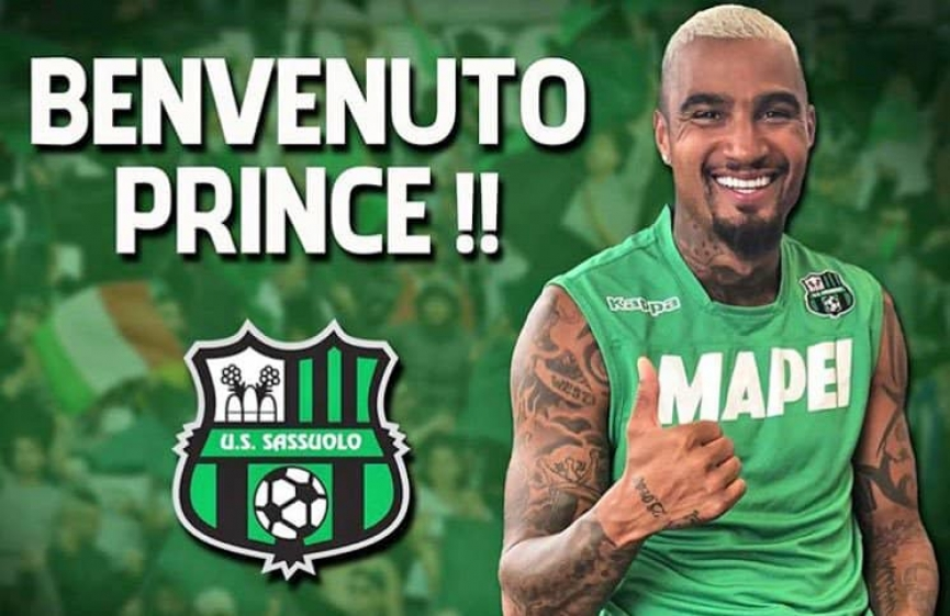 KP Boateng joins Italian club US Sassuolo