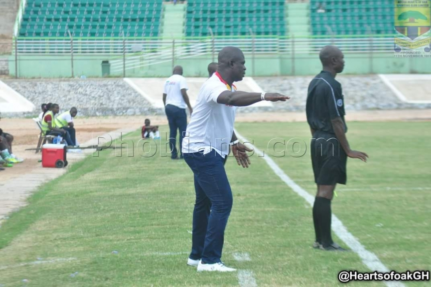 Hearts coach happy with boys output in Bakatue Cup