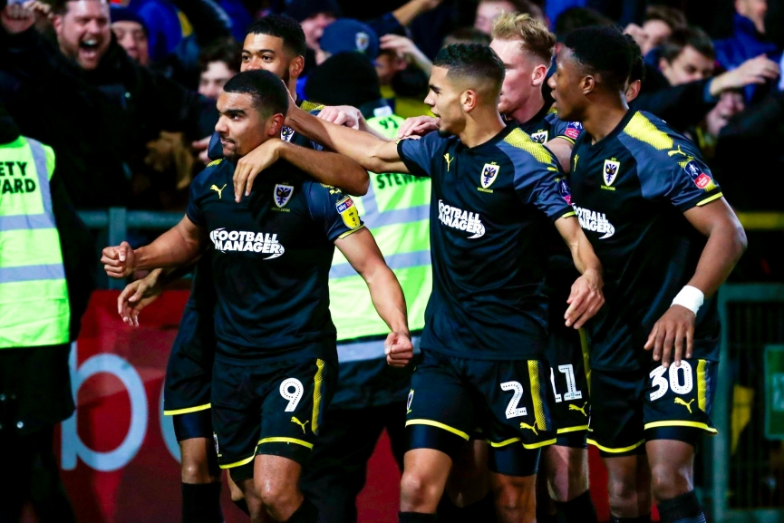 Kwesi Appiah scores match-winner as AFC Wimbledon progress in FA Cup