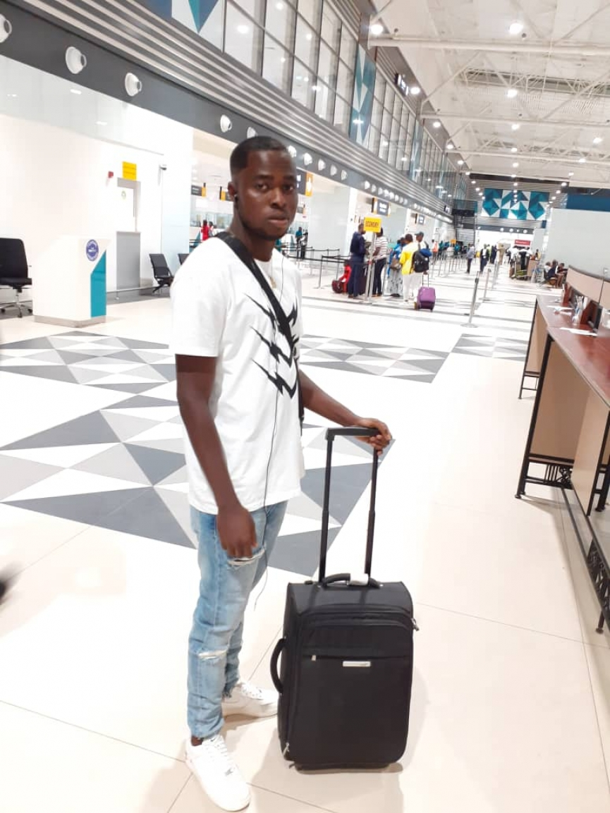 Ashgold's Appiah McCarthy arrives in Switzerland for trial at FC Chiasso
