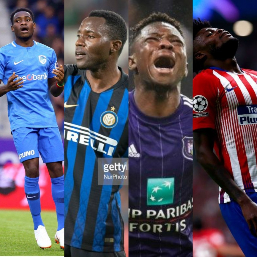 How Ghanaian Players fared in Champions League and Europa League