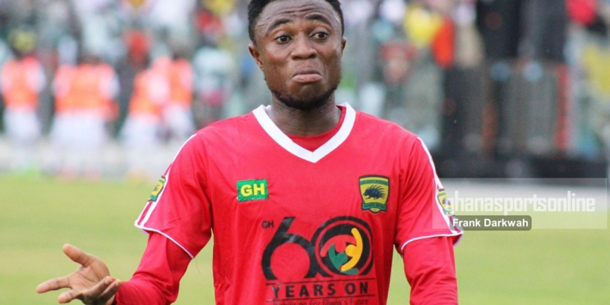 Asante Kotoko speedster Emmanuel Gyamfi clears out of injury