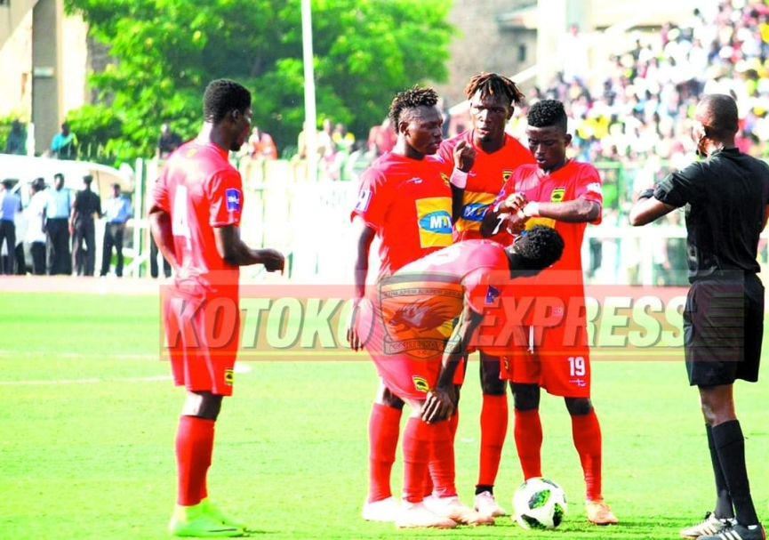 Don't get carried away by the result, we've been in these situations - Amos Frimpong cautions Kotoko players