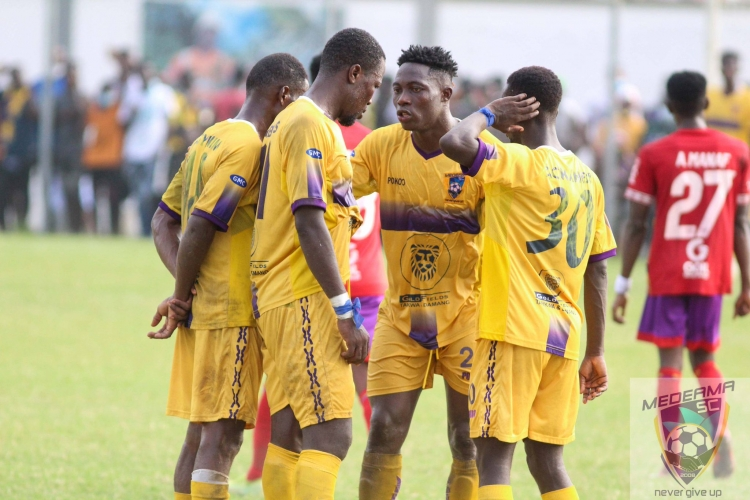 Medeama SC hand players four day break after first round of the season