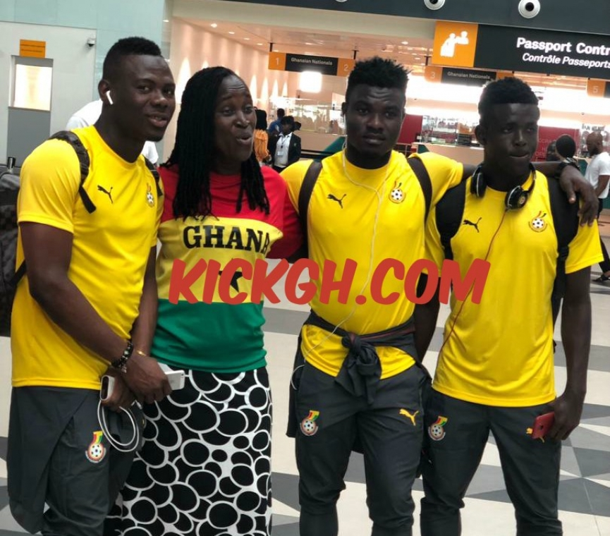 U-23 Afcon qualifier: Twenty Ghana players leave for Gabon; Tetteh & Ahiabu dropped