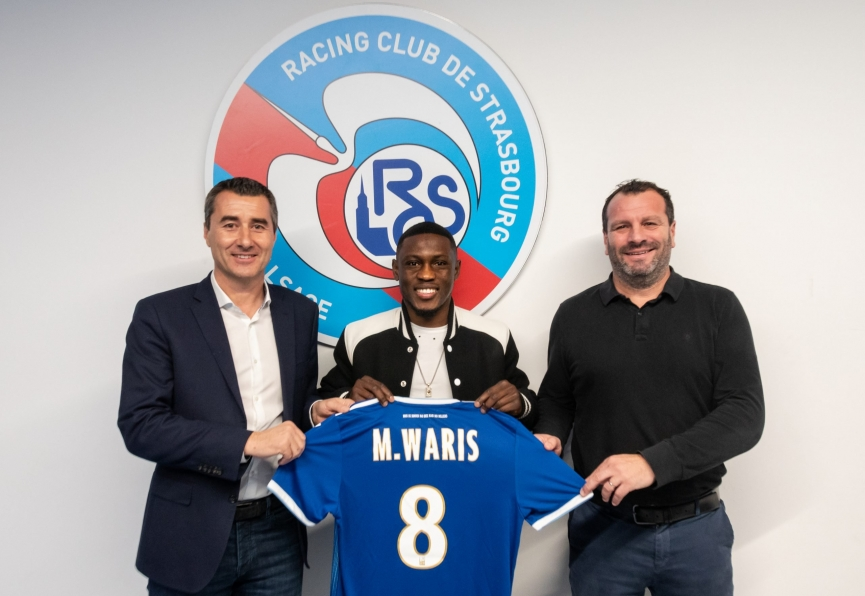 OFFICIAL: Waris joins  French side RC Strasbourg