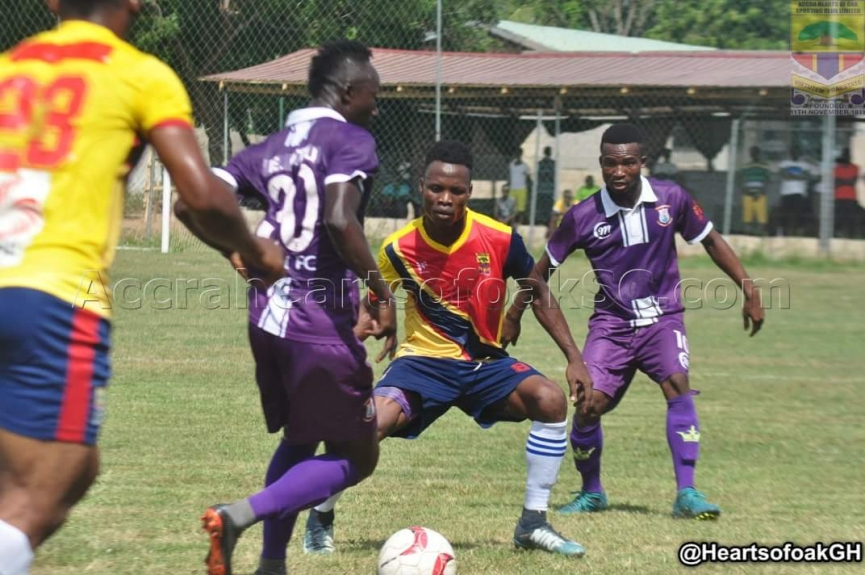 Hearts of Oak share spoils with Vision FC in a friendly