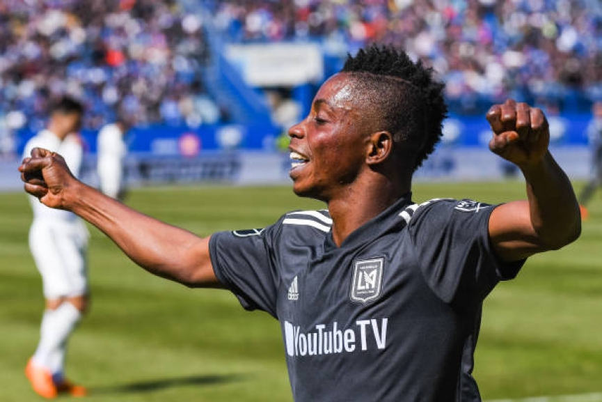 Latif Blessing came off the bench to score in Los Angeles dramatic win