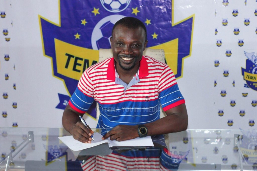 Tema Youth appoint Enos Adepah as their new head coach