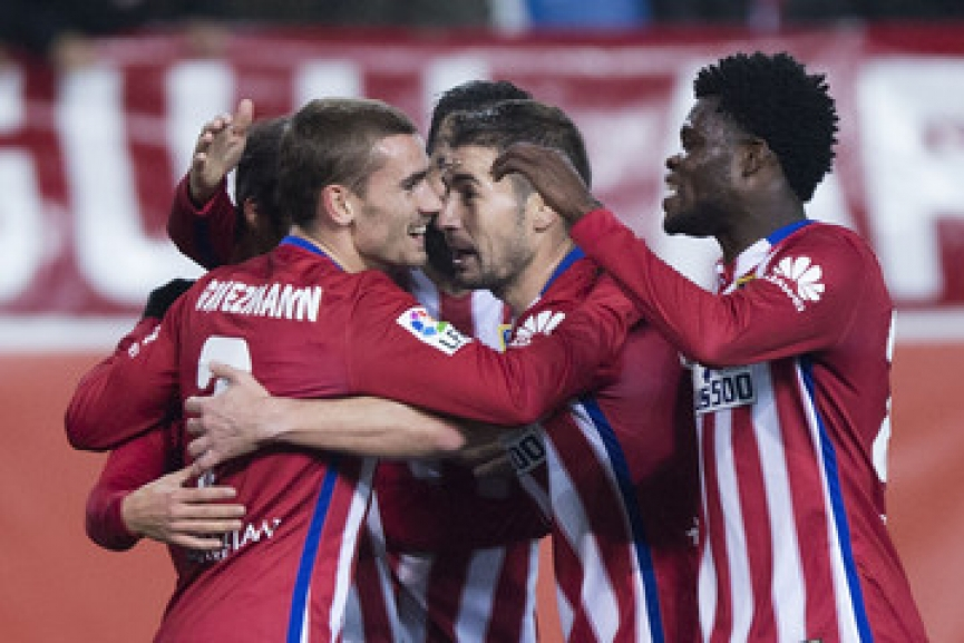 Partey's Atletico Madrid fail to qualify for Champions League round of 16