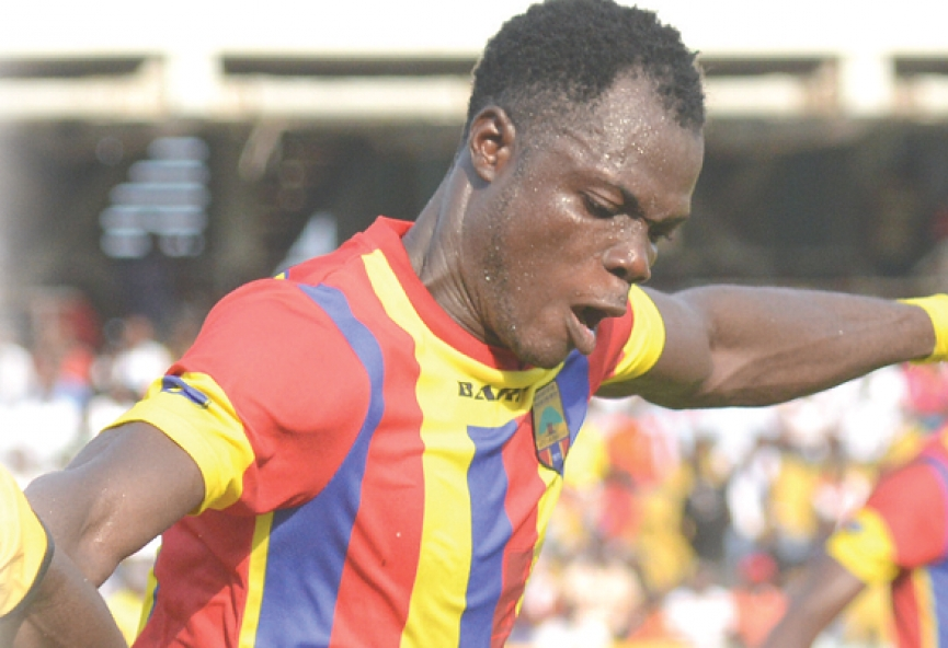 Inusah Musah stops training with Hearts of Oak