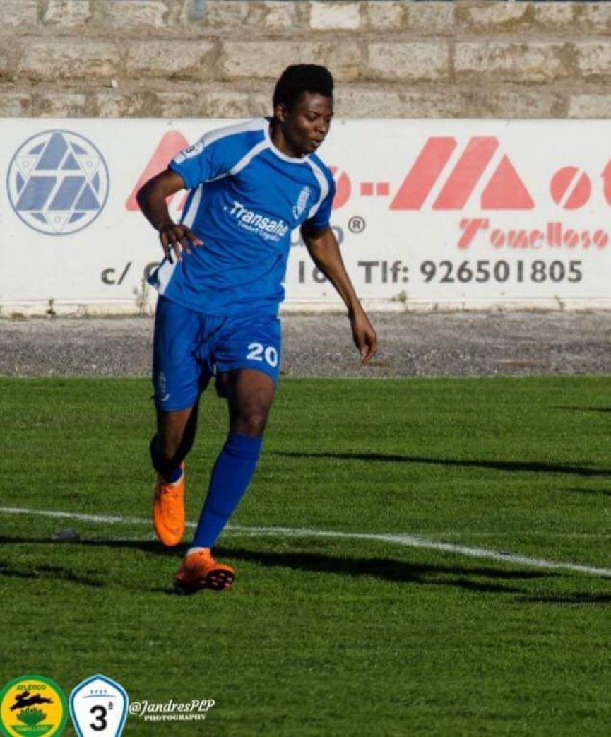 Mohammed Amando provides assist to propel CD Madridejos to victory