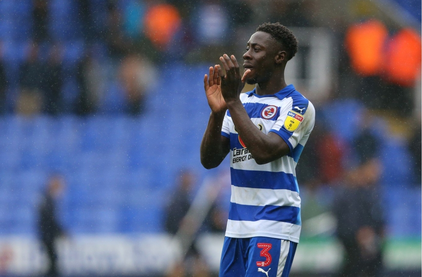 Andy Yiadom delighted to score his first goal for Reading FC