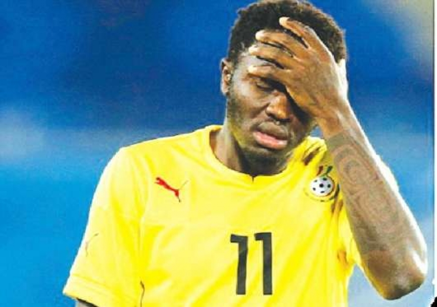 Let me play just 15 minutes at AFCON 2019 - Muntari begs