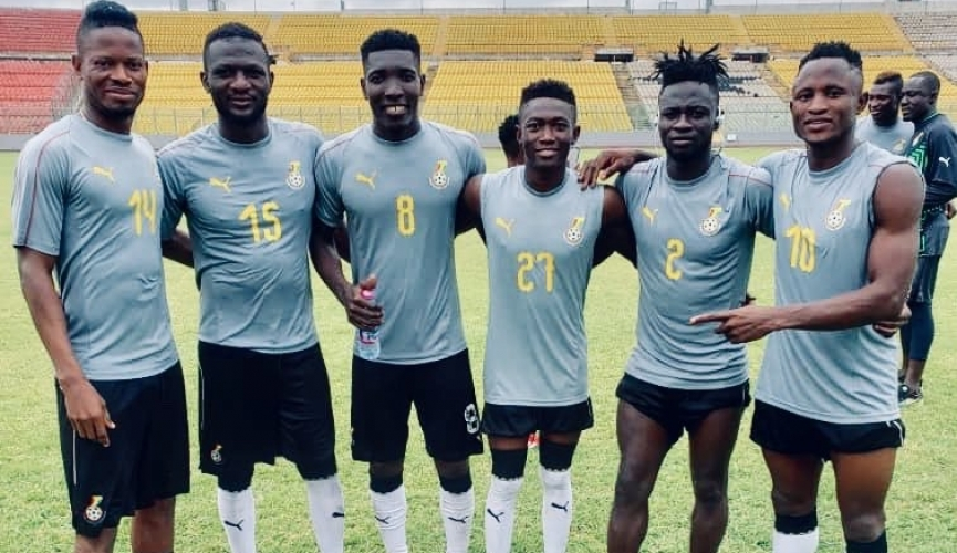 Coach Maxwell Konadu drops Hearts of Oak trio from Black Stars 'B' squad