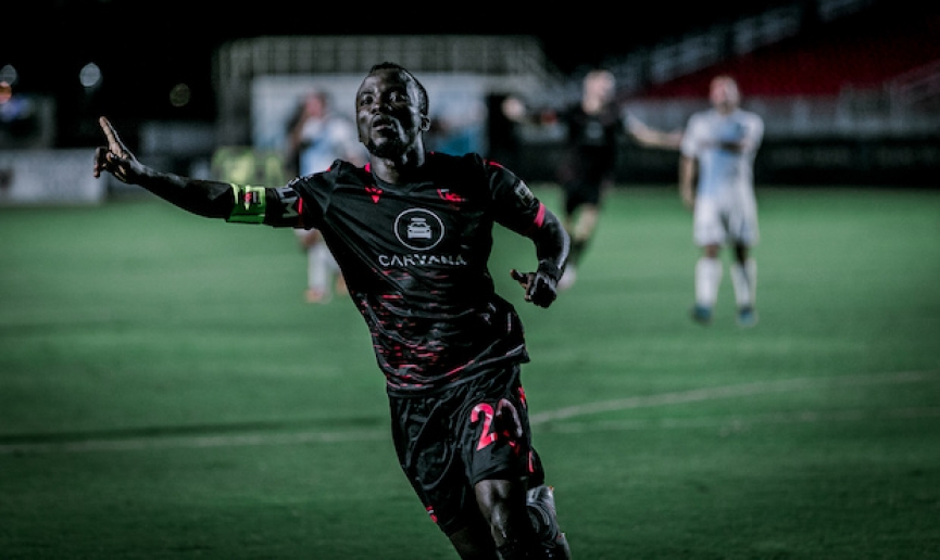 Solomon Asante scores 4th goal to propel Phoenix Risings to victory
