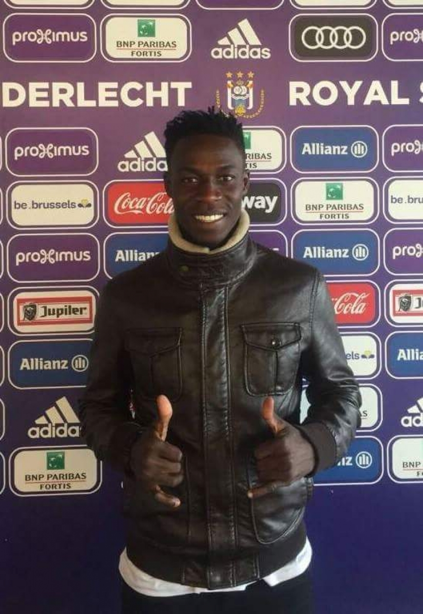 EXCLUSIVE: Ghanaian youngster Philemon Tawiah on trial at Anderlecht