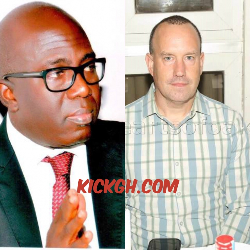 BREAKING: Mark Noonan quits Hearts of Oak job; Frederick Moore takes over