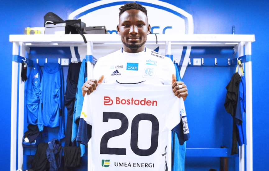 Exclusive: Ghanaian youngster Emmanuel Yeboah joins Swedish side Umea FC