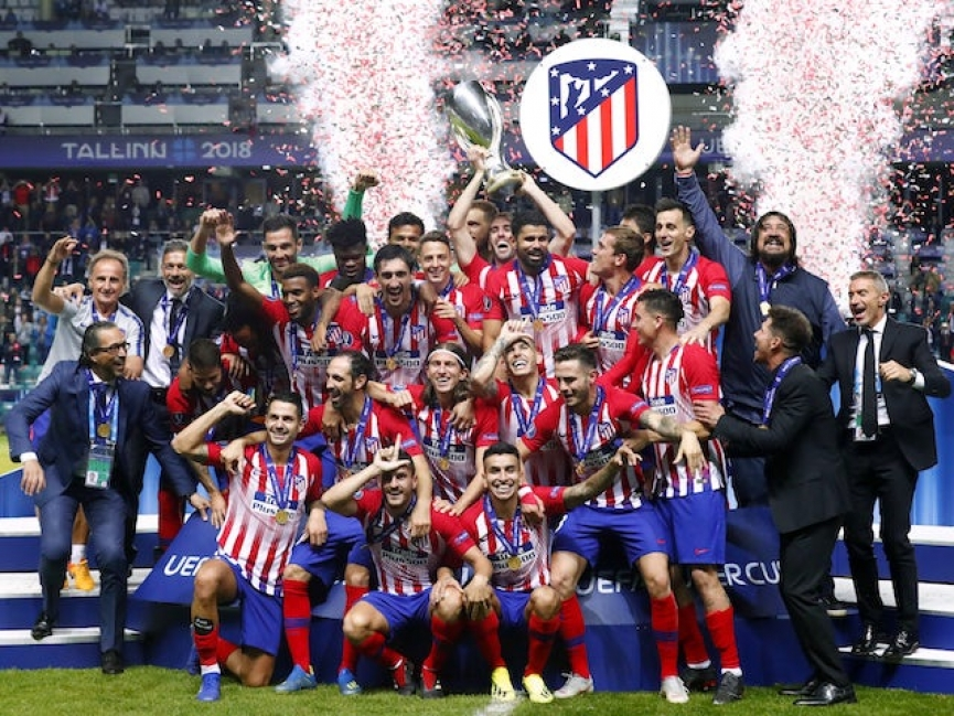 Thomas Partey wins UEFA Super Cup with Atletico Madrid