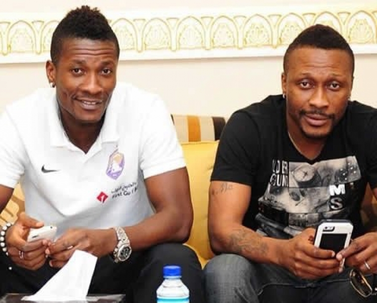 Ghana all-time top scorer Asamoah Gyan and his brother assault tennis opponent