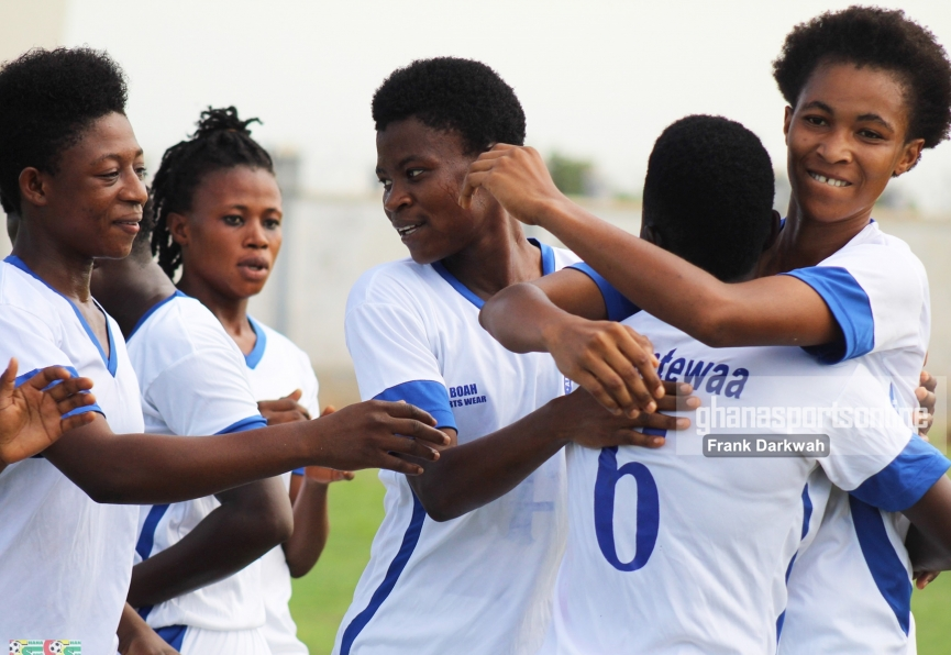 MATCH REPORT: Ampem Darkoa Ladies beat Prisons Ladies to defend Super Cup title