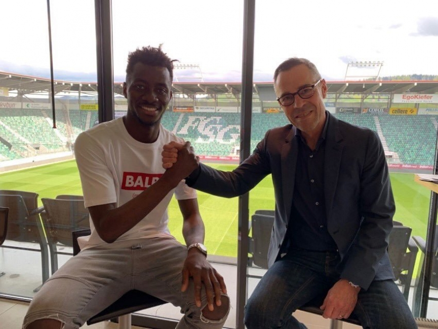 Musah Nuhu signs permanent deal with Swiss side FC St. Gallen