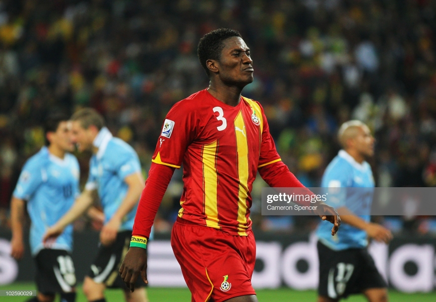 2010 FIFA World Cup penalty missed still hurts me - Asamoah Gyan cries