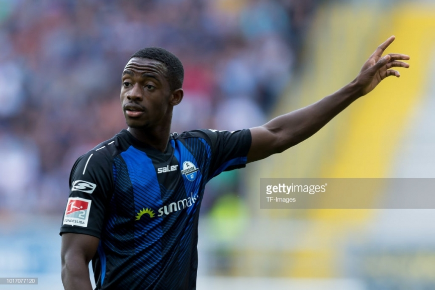 Antwi-Adjei came off the bench to power SC Paderborn to victory in DFB Pokal