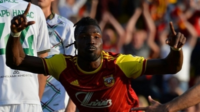 Kadri Mohammed climbs off the bench to score first goal for Arsenal Tula