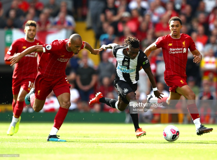 Christian Atsu registers assist as Liverpool beat Newcastle (+VIDEO)