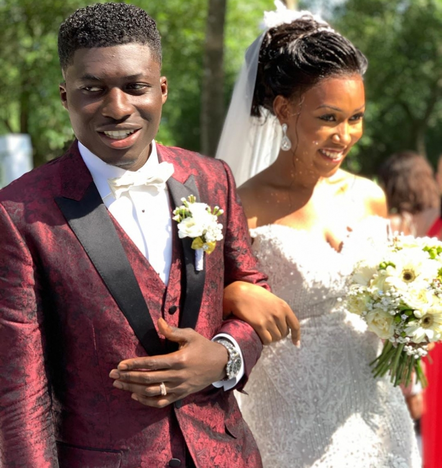 Alfred Duncan marries his longtime Girlfriend Rosa