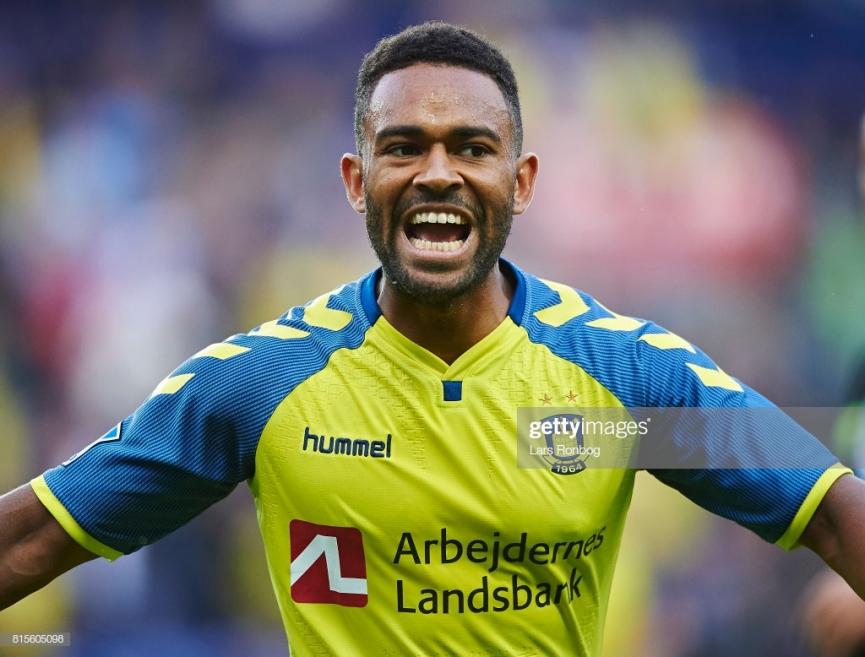 Ghana's Kelvin Mensah strikes as Brondby IF beat Vendsyssel in Danish Cup