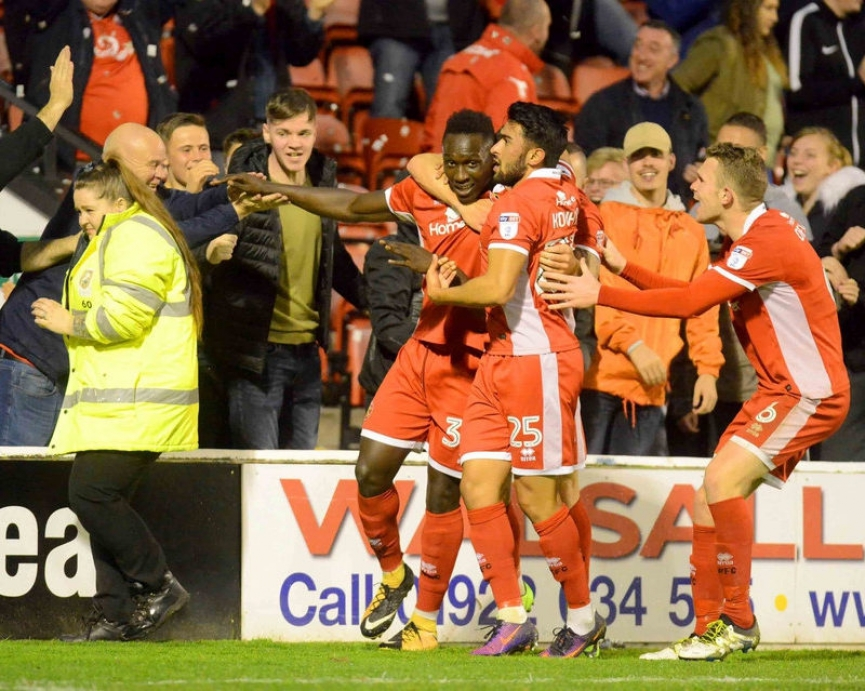 Ghanaian starlet Daniel Agyei scores STUNNER to rescue Walsall from defeat