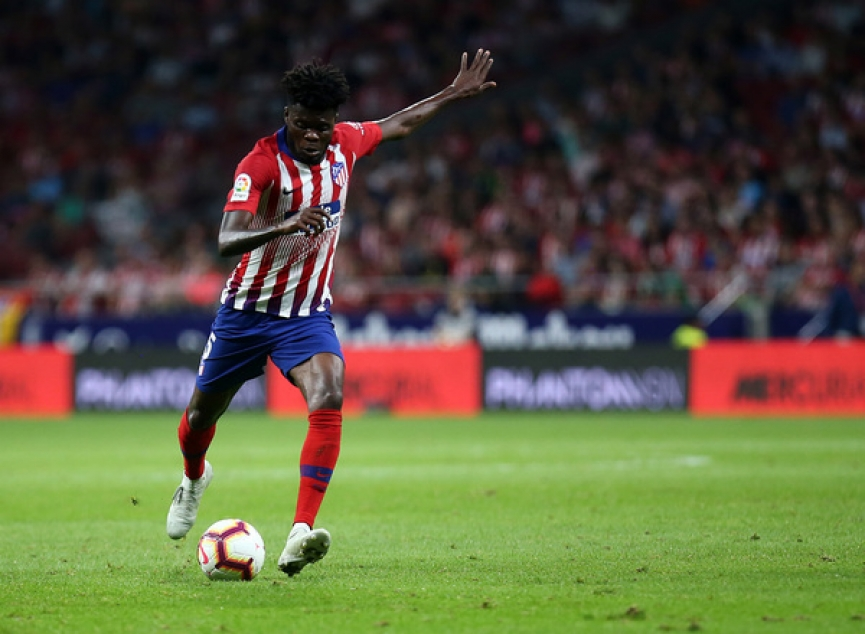 Thomas Partey's assist propel Atletico Madrid to victory