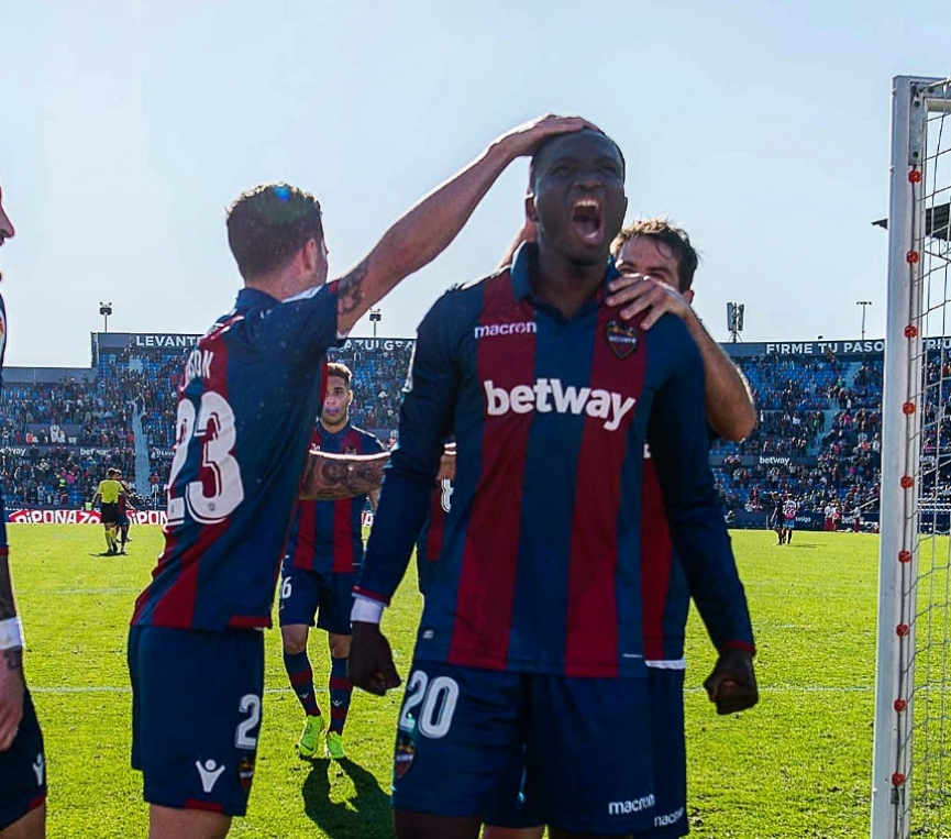 Raphael Dwamena propels Levante UD to victory in Copa Del Rey with his debut goal