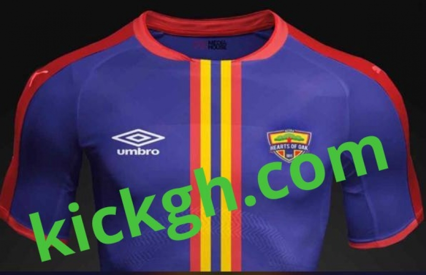 PICTURES: Hearts of Oak new kits from Umbro leaked