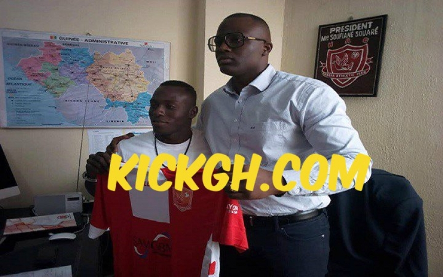 OFFICIAL: Patrick Razak joins Guinean club AC Horoya