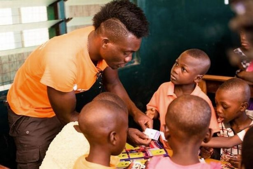 Christian Atsu reveals why he can't stop giving to Orphans
