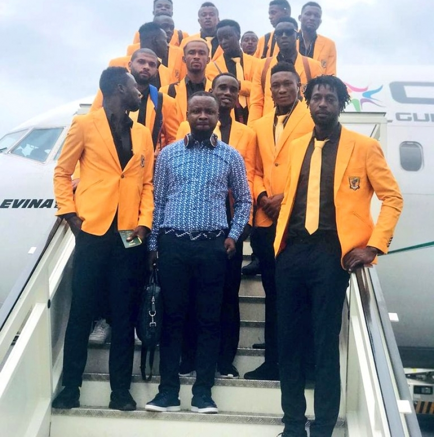 Ashanti Gold arrive in Equatorial Guinea ahead of Akonangui FC duel