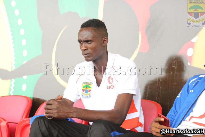 MASSIVE BOOST: Camara Nguessan now eligible to play for Hearts of Oak