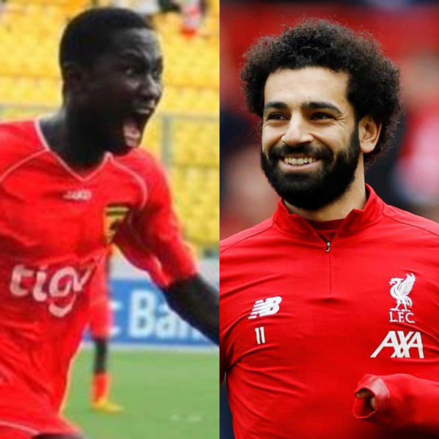 Eric Bekoe: Mohamed Salah wanted to be like me
