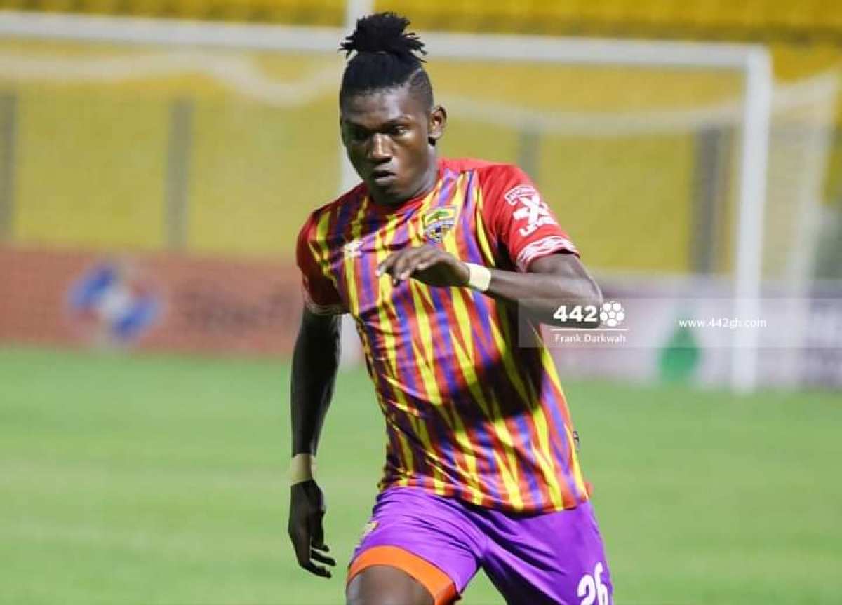 REPORTS: Raddy Ovouka signs a two-year contract extension with Hearts of  Oak - Kickgh.com