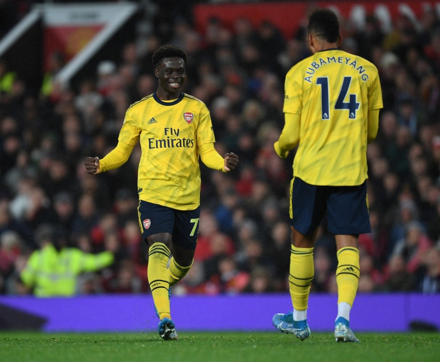 Ghanaian kid Bukayo Saka's assist save Arsenal from defeat