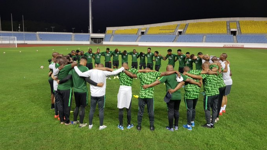 PHOTOS: South Africa hold final training ahead of Ghana match