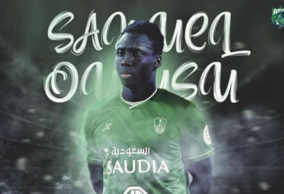 BREAKING NEWS: Black Stars winger Samuel Owusu completes 'bumper' deal to Al-Ahli