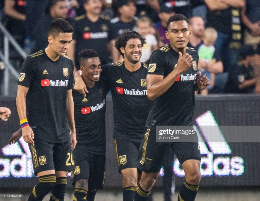 VIDEO: Majestic Latif Blessing scores another beautiful goal for Los Angeles FC