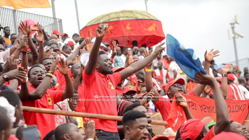 Meet the Kotoko Supporters chief who advised the club to face Aduana Stars with ten men in first half