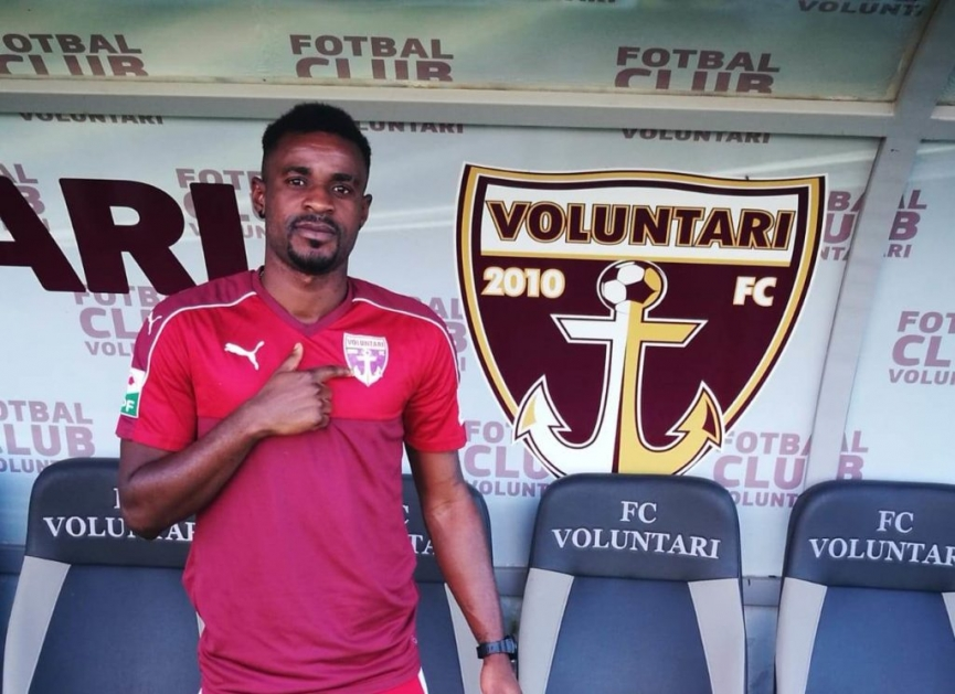 Richard Gadze joins Romanian side FC Voluntari